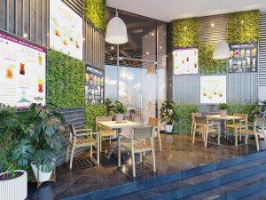Thiết kế quán cafe gia lai