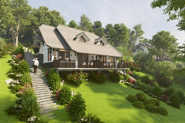 Thiết kế khu nghỉ dưỡng sinh thái